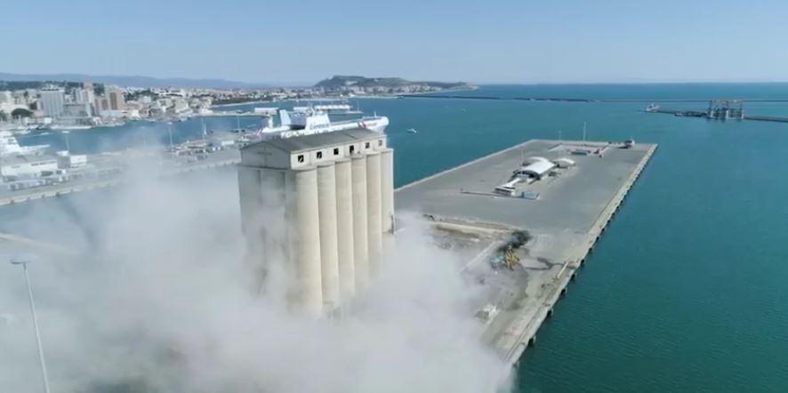 Progetto Silos al Porto di Cagliari