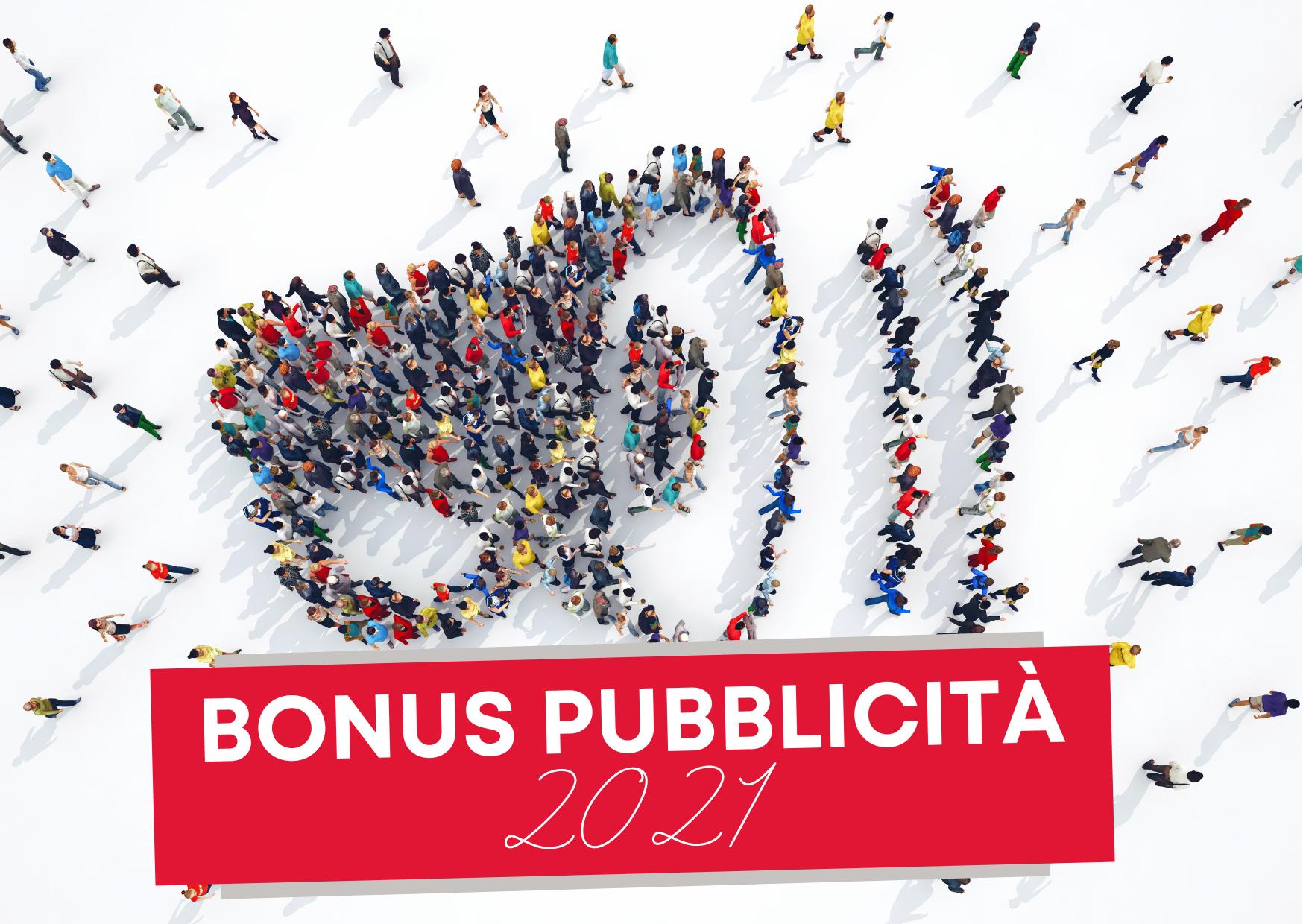 Bonus Pubblicità 2021: dal 1 settembre è possibile fare la richiesta